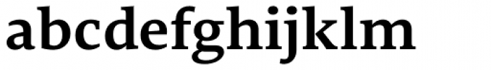 Edit Serif Pro Semi Bold Font LOWERCASE