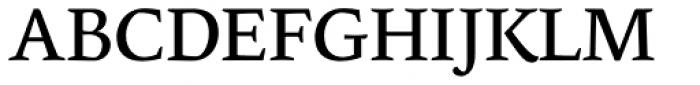 Edita Small Text Regular Font UPPERCASE