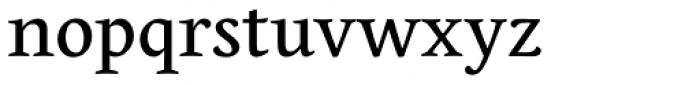 Edita Small Text Regular Font LOWERCASE