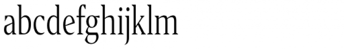 Editor Condensed Light Font LOWERCASE