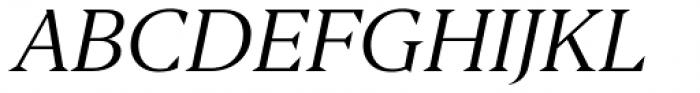Editor Italic Font UPPERCASE
