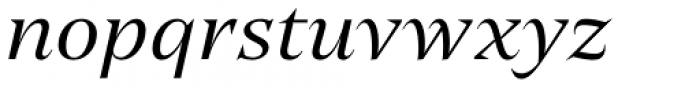 Editor Italic Font LOWERCASE