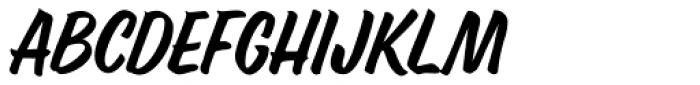 Ed's Market Narrow Slant Font UPPERCASE