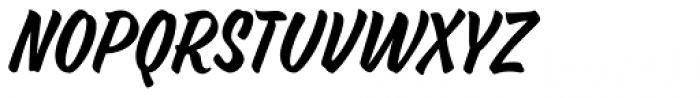 Ed's Market Narrow Slant Font LOWERCASE
