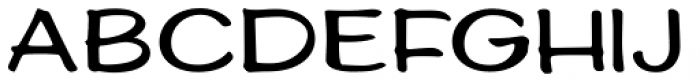 Ed's Market Wide Font LOWERCASE