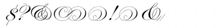 Edwardian Script Alt Font OTHER CHARS