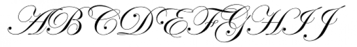 Edwardian Script Alt Font UPPERCASE
