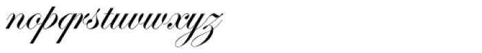 Edwardian Script Pro Regular Font LOWERCASE