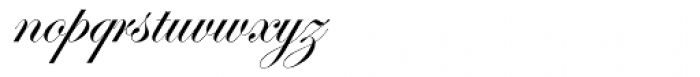 Edwardian Script Font LOWERCASE