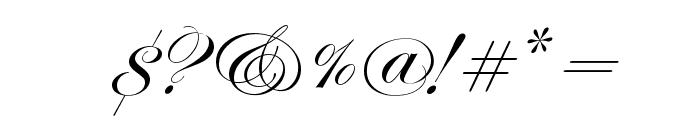 Edwardian Script ITC Font OTHER CHARS