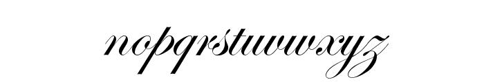 Edwardian Script ITC Font LOWERCASE