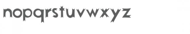 ed ribbon edge font Font LOWERCASE