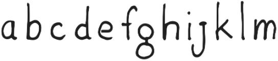 EE-Carlsbad ttf (400) Font LOWERCASE