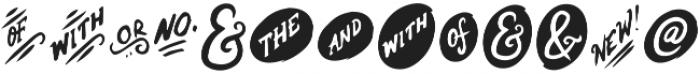 EE-Cloverdale-Alternatives ttf (400) Font UPPERCASE