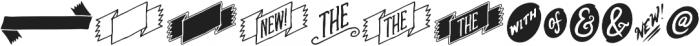 EE-Cloverdale-Alternatives ttf (400) Font LOWERCASE