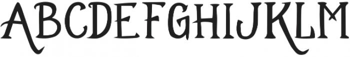 EE-Cloverdale ttf (400) Font UPPERCASE