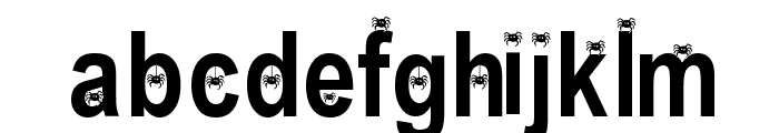 Eency Weency Spider Font LOWERCASE