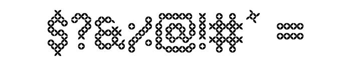 Eenvoudige Batik  Regular Font OTHER CHARS