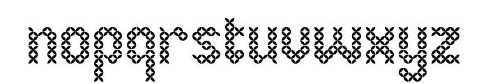 Eenvoudige Batik  Regular Font LOWERCASE