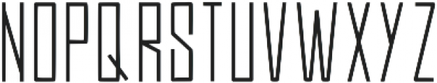 Efesto Regular otf (400) Font UPPERCASE