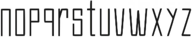 Efesto Regular ttf (400) Font LOWERCASE