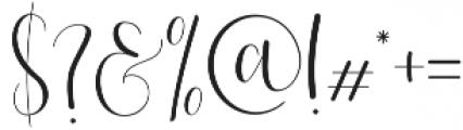 Effort Regular otf (400) Font OTHER CHARS