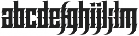 Effortless Tattoo otf (400) Font LOWERCASE