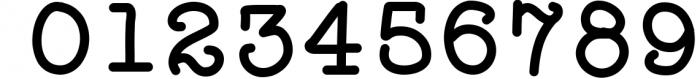 Effortless - A Typewriter Font Font OTHER CHARS