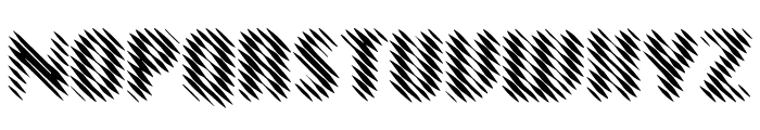 EFN Linea Font UPPERCASE