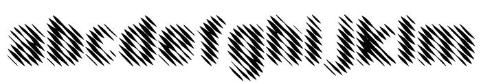 EFN Linea Font LOWERCASE
