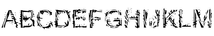 EFN Mazajcar Font UPPERCASE