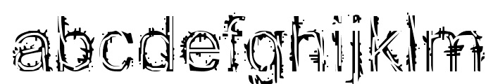 EFN Mazajcar Font LOWERCASE