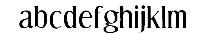 Effloresce Antique Font LOWERCASE