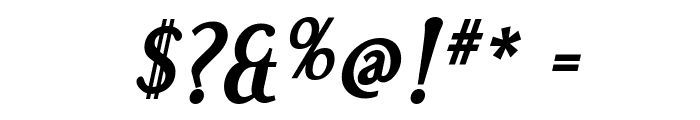 Effloresce Bold Italic Font OTHER CHARS