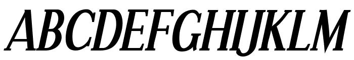 Effloresce Bold Italic Font UPPERCASE