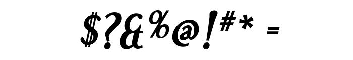 Effloresce-BoldItalic Font OTHER CHARS