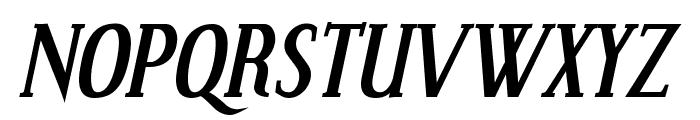 Effloresce-BoldItalic Font UPPERCASE