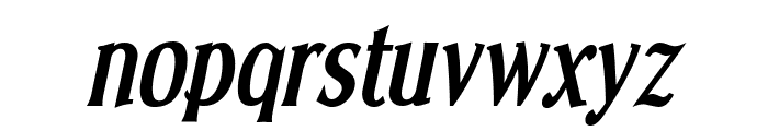 Effloresce-BoldItalic Font LOWERCASE