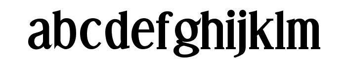Effloresce-Bold Font LOWERCASE