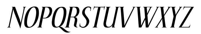 Effloresce-Italic Font UPPERCASE