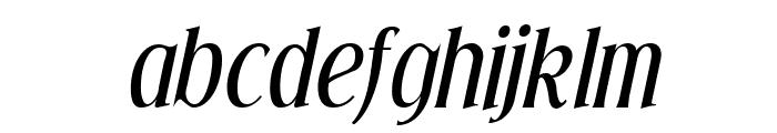 Effloresce-Italic Font LOWERCASE