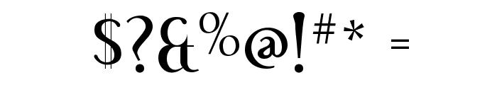 Effloresce-Regular Font OTHER CHARS