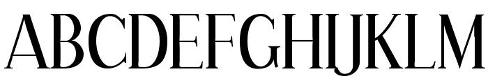 Effloresce-Regular Font UPPERCASE