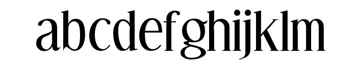Effloresce-Regular Font LOWERCASE