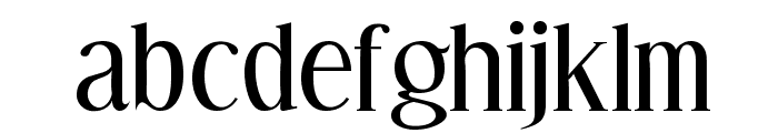Effloresce Font LOWERCASE