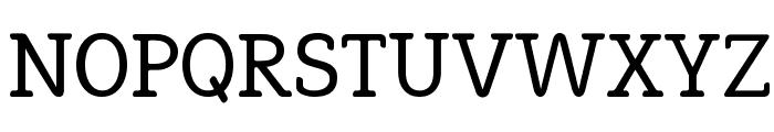 Efja Regular Font UPPERCASE