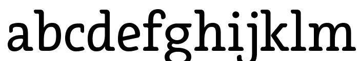 Efja Regular Font LOWERCASE