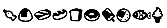 Efoodde Font OTHER CHARS