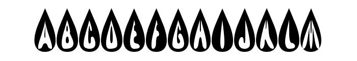 efBURNER Font UPPERCASE