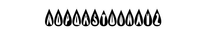 efBURNER Font LOWERCASE